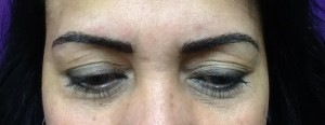 Hairstroke Eyebrows After